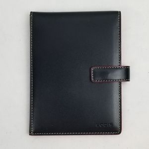 Lodis Black Leather Wallet
